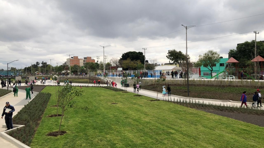 Parque Lineal Gran Canal